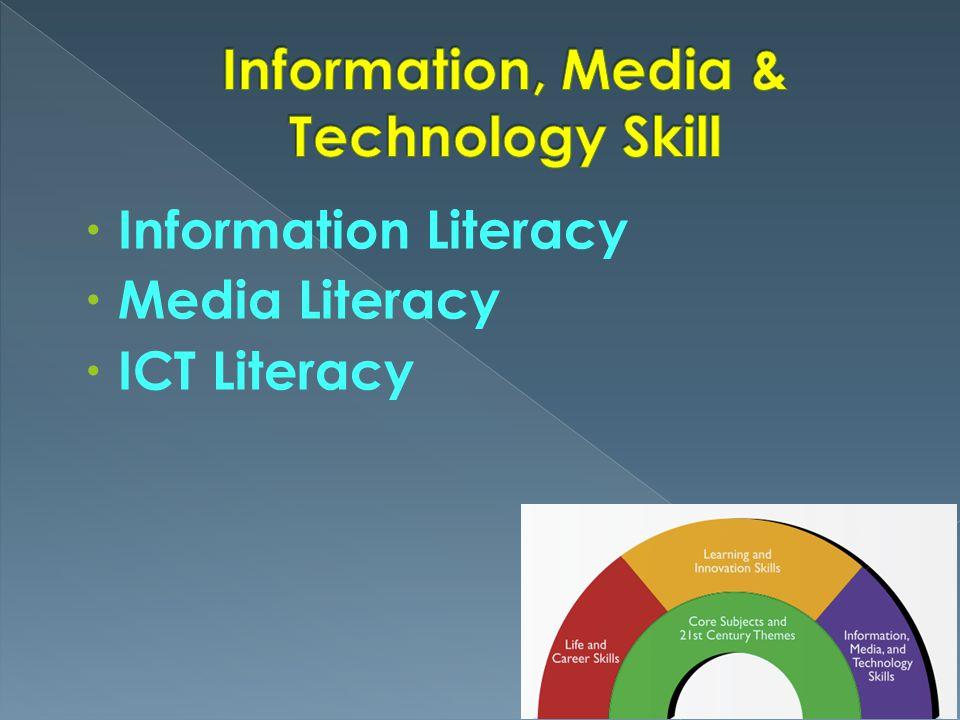 Information, Media & Technology Skill