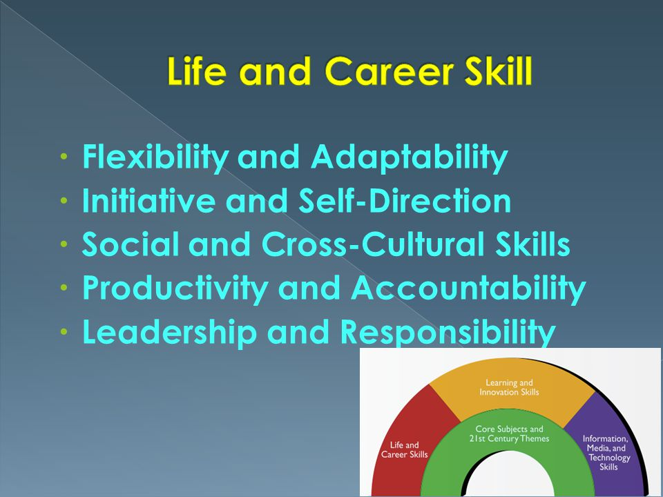 Life and Career Skill Flexibility and Adaptability