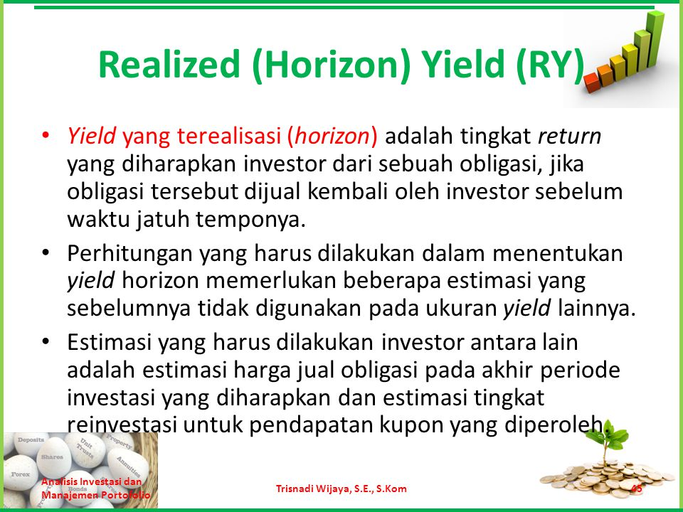 Realized (Horizon) Yield (RY)
