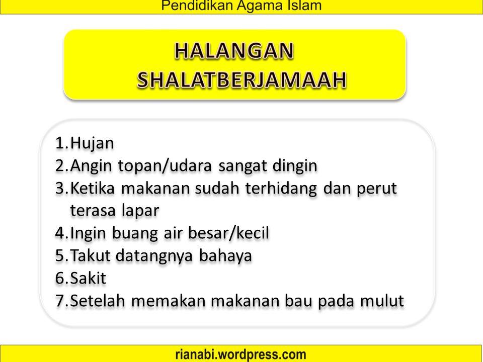HALANGAN SHALATBERJAMAAH