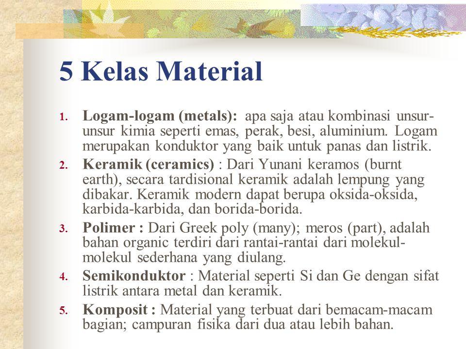 5 Kelas Material