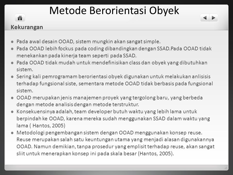 Metode Berorientasi Obyek