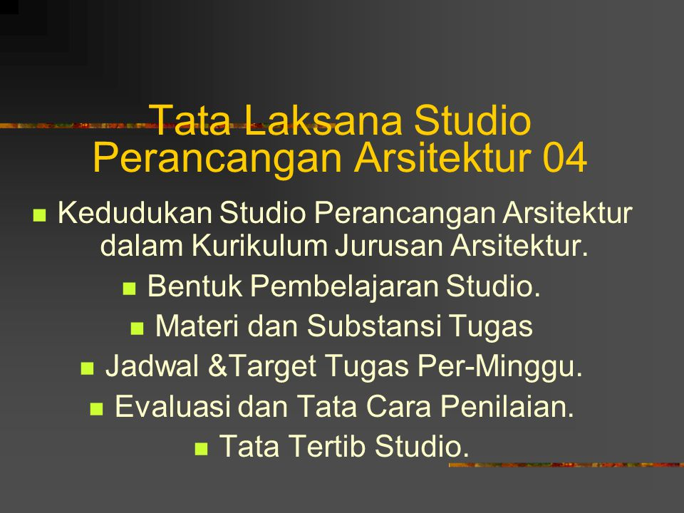 Tata Laksana Studio Perancangan Arsitektur 04