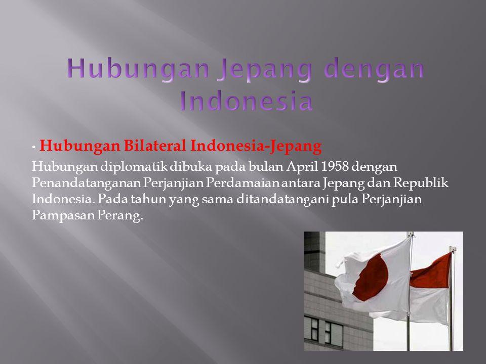 Hubungan Jepang dengan Indonesia