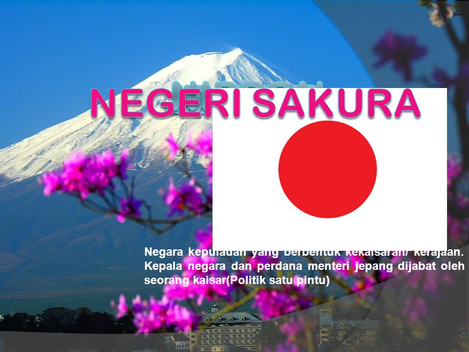 NIPPON japan Jepang negeri sakura