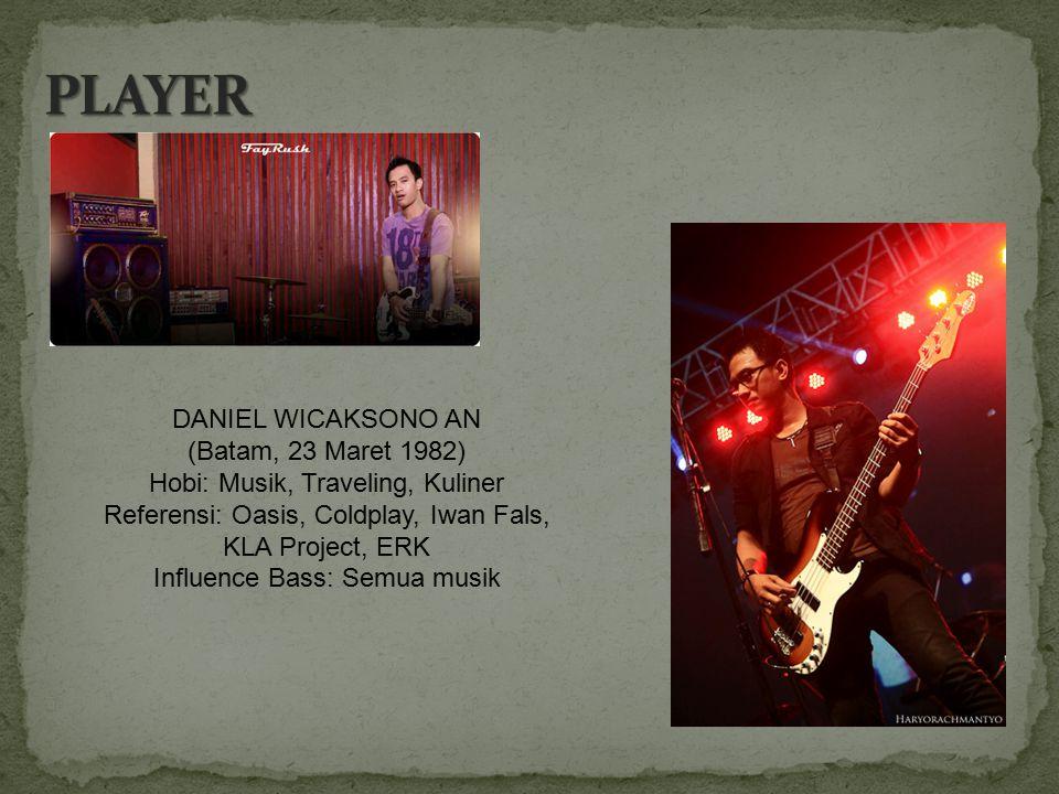 PLAYER DANIEL WICAKSONO AN (Batam, 23 Maret 1982)