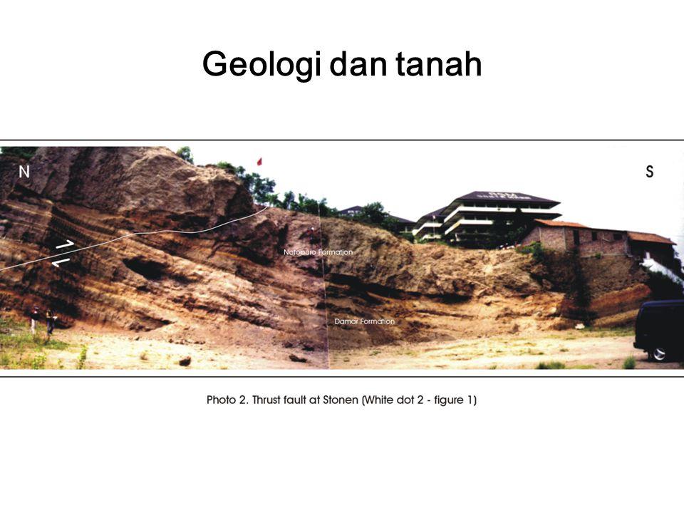 Geologi dan tanah