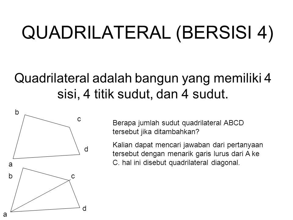 QUADRILATERAL (BERSISI 4)