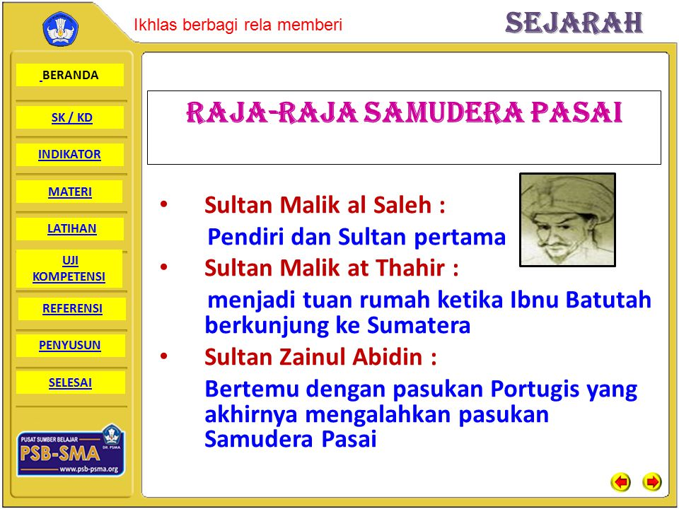 Raja-raja SAMUDERA PASAI