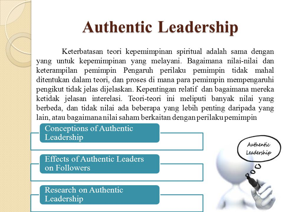 Authentic Leadership Conceptions of Authentic Leadership