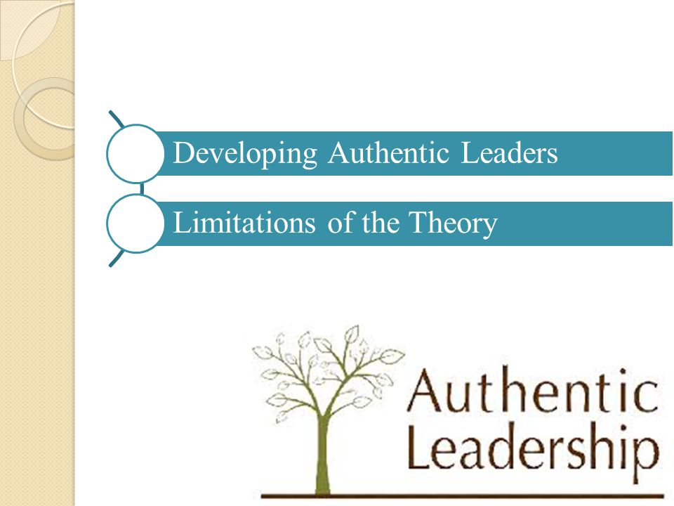 Developing Authentic Leaders