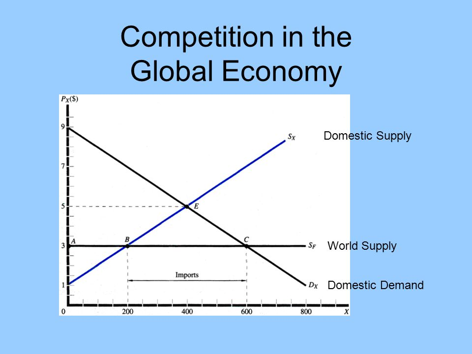 Competition in the Global Economy