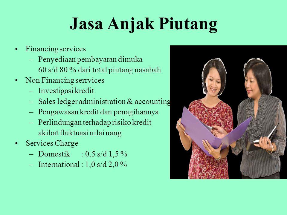 Jasa Anjak Piutang Financing services Penyediaan pembayaran dimuka
