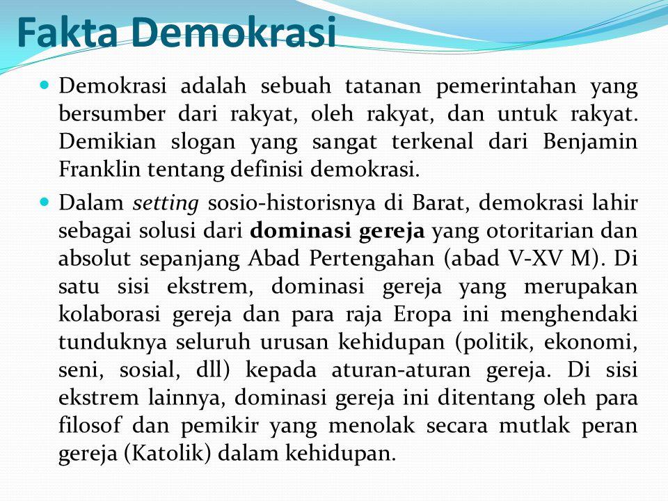 Fakta Demokrasi