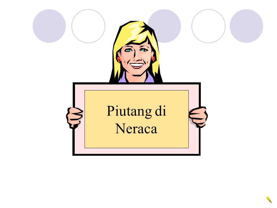 Piutang di Neraca