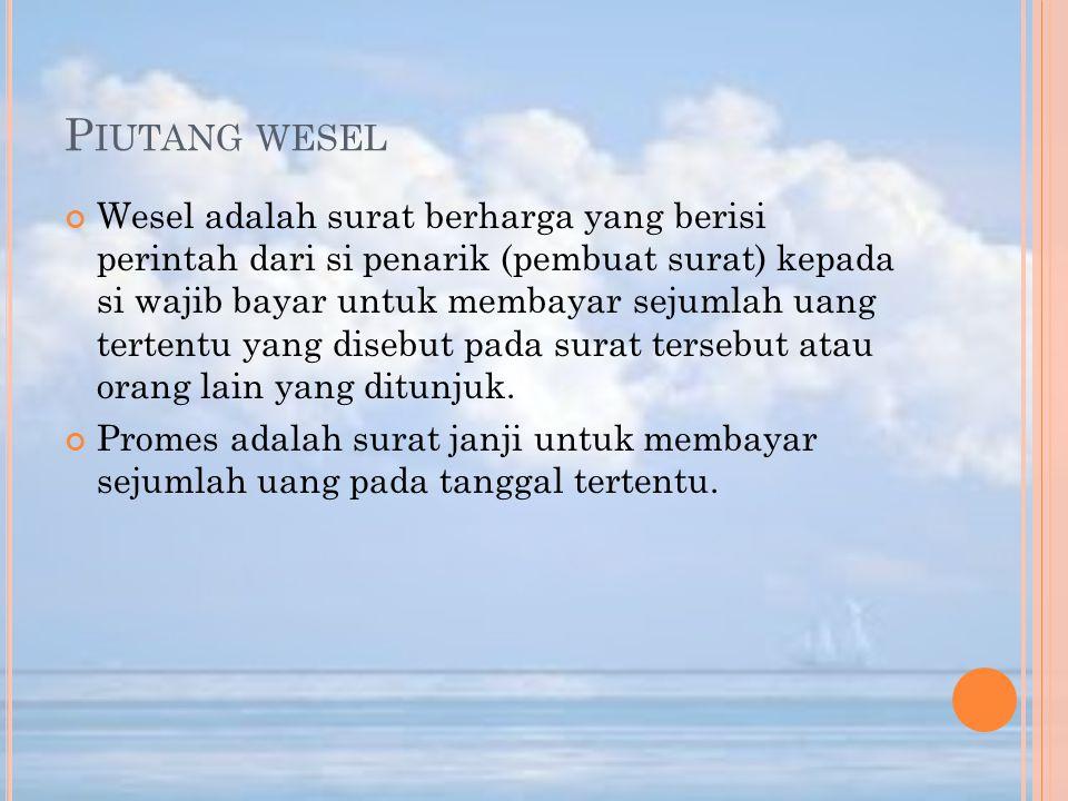 Piutang wesel