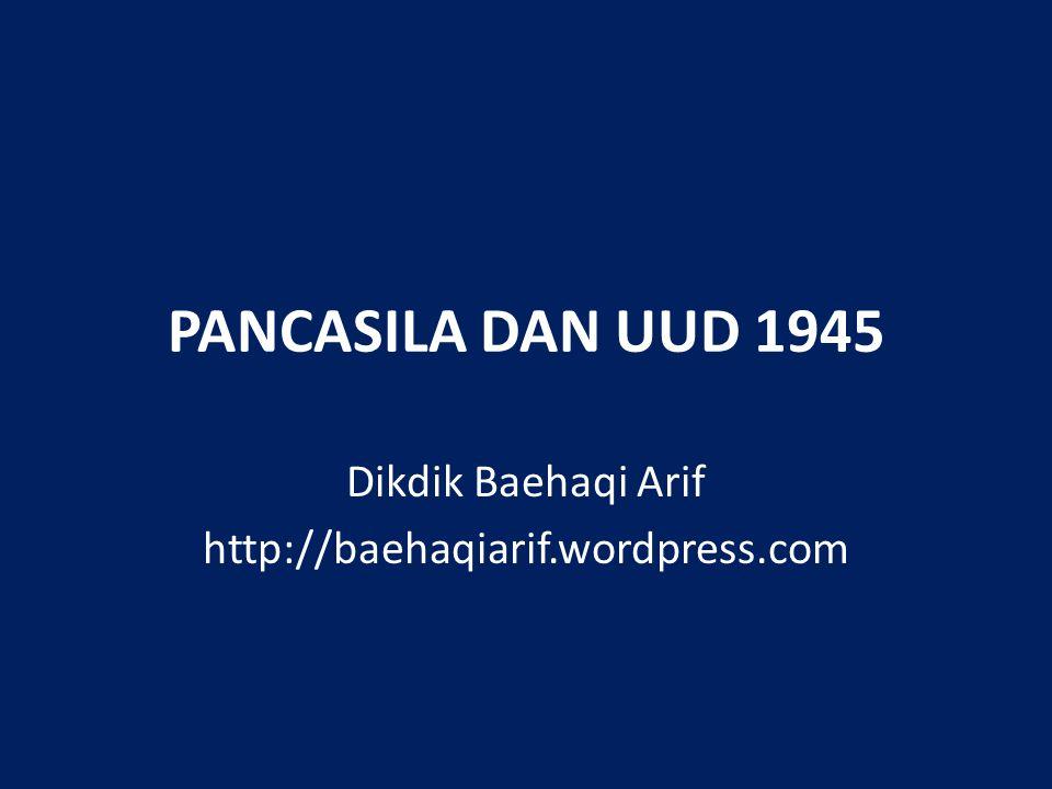 Dikdik Baehaqi Arif http://baehaqiarif.wordpress.com