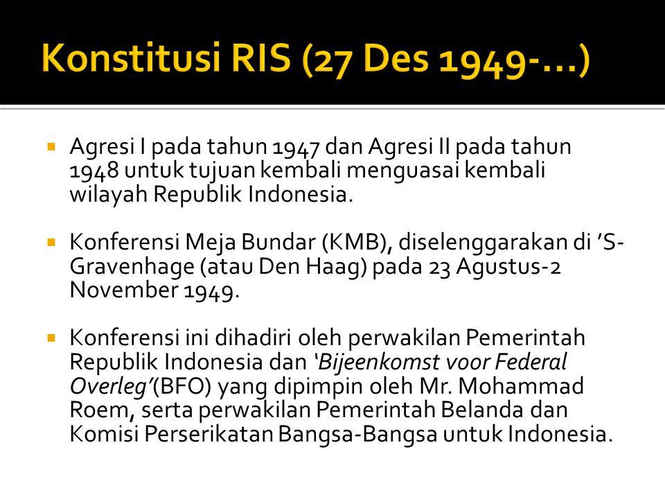 Konstitusi RIS (27 Des 1949-...)