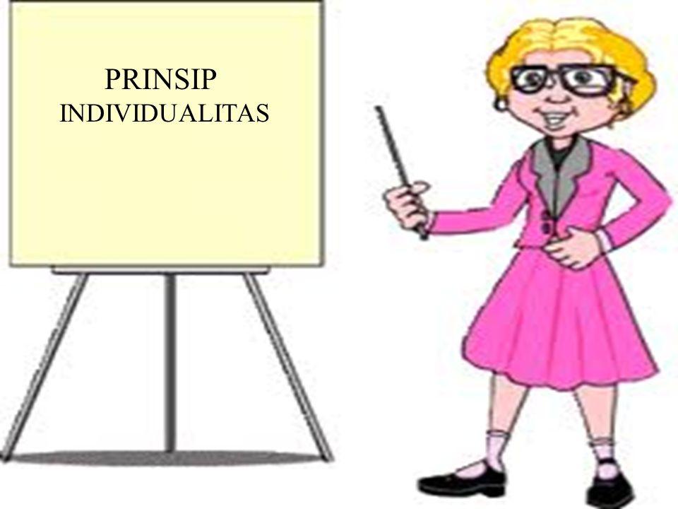PRINSIP INDIVIDUALITAS
