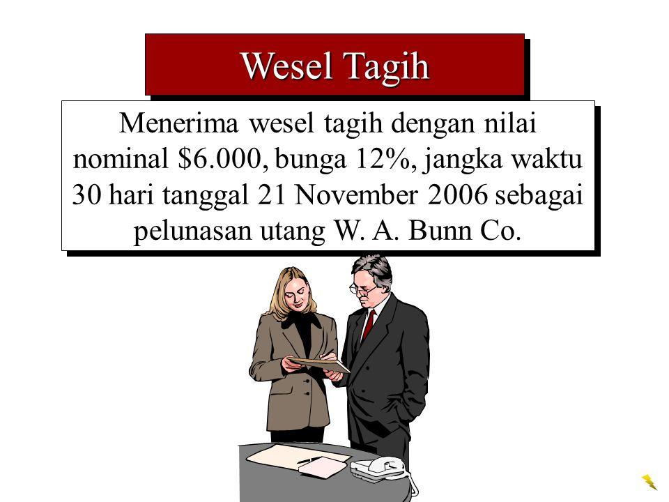 Wesel Tagih