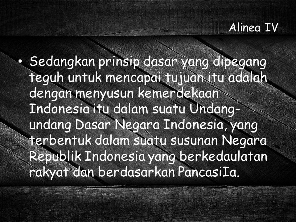 Alinea IV