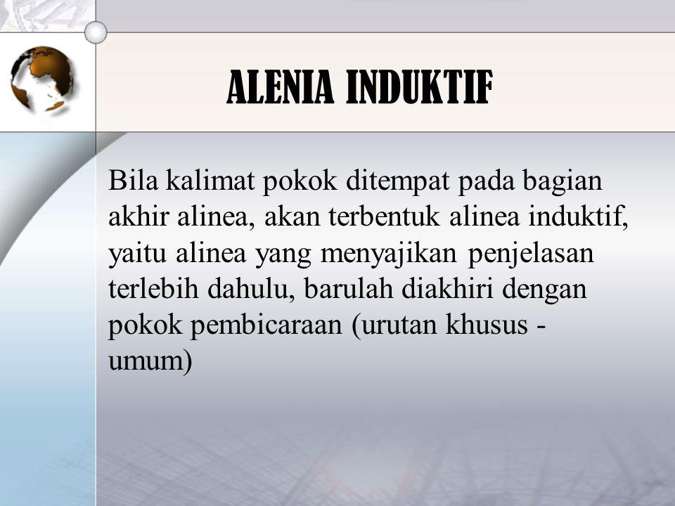 ALENIA INDUKTIF