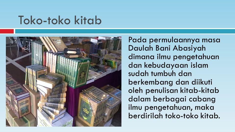 Toko-toko kitab