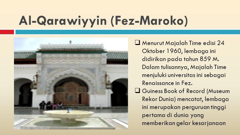 Al-Qarawiyyin (Fez-Maroko)