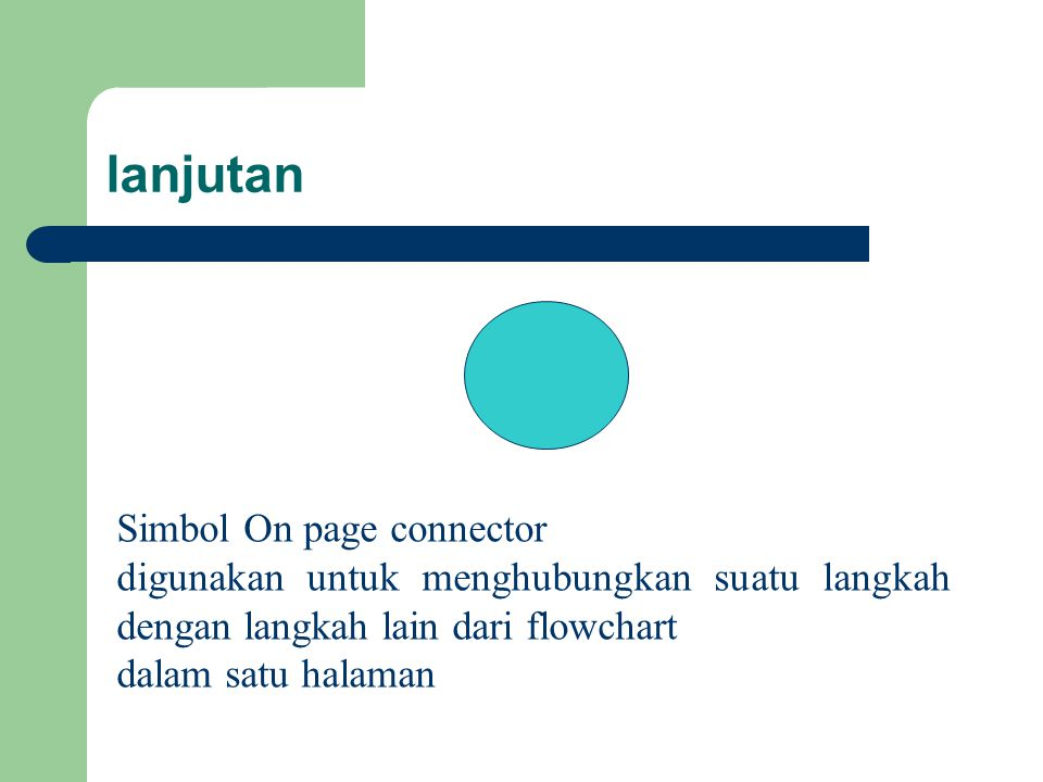 lanjutan Simbol On page connector