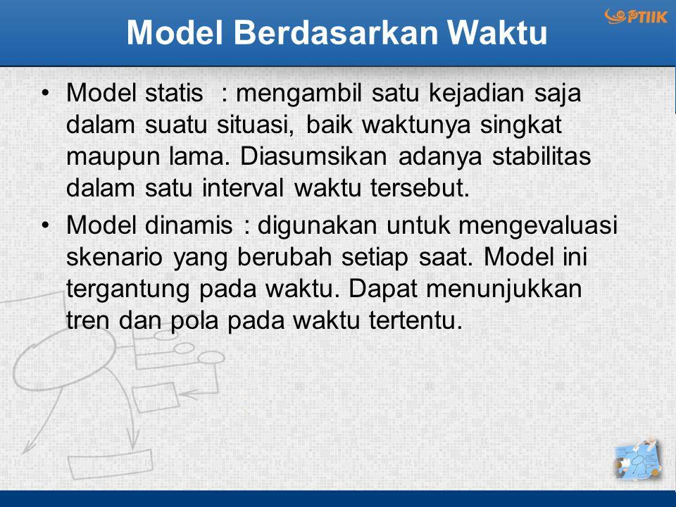 Model Berdasarkan Waktu