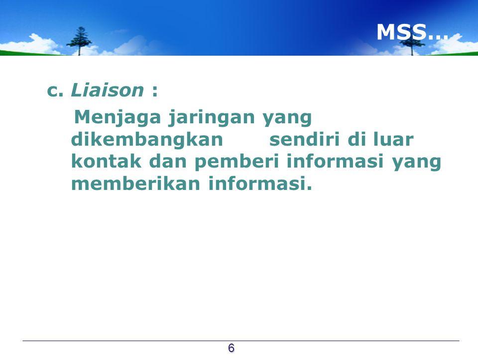 MSS… c.