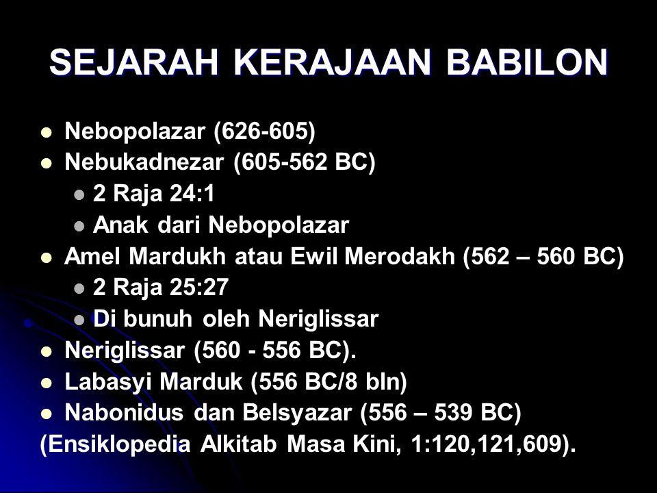 SEJARAH KERAJAAN BABILON