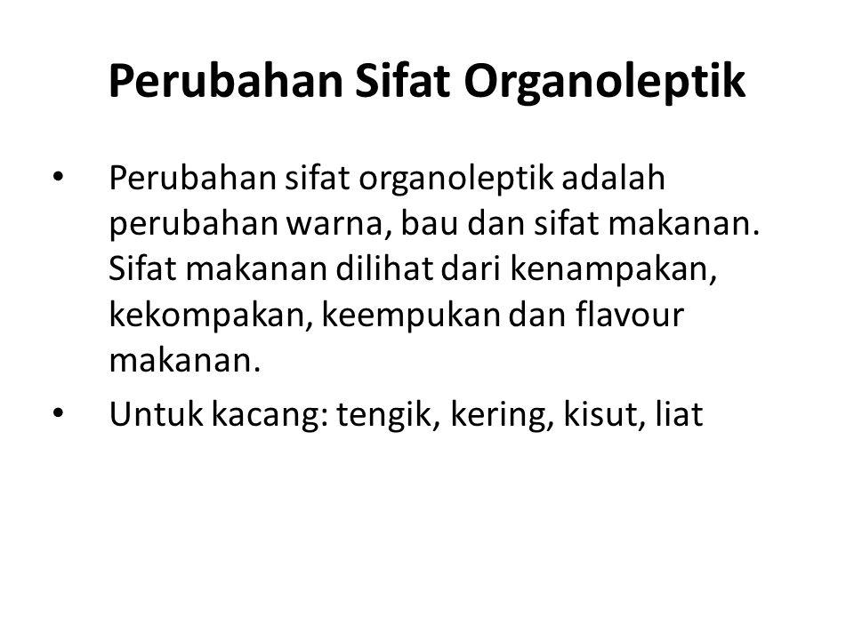 Perubahan Sifat Organoleptik