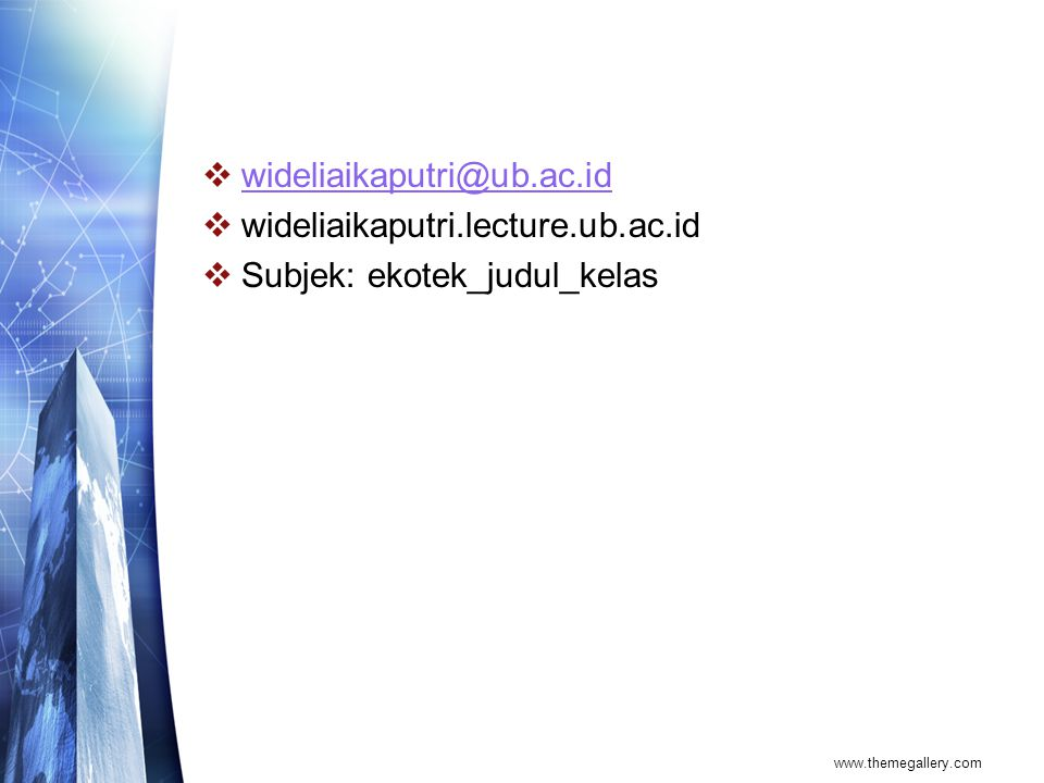 Subjek: ekotek_judul_kelas