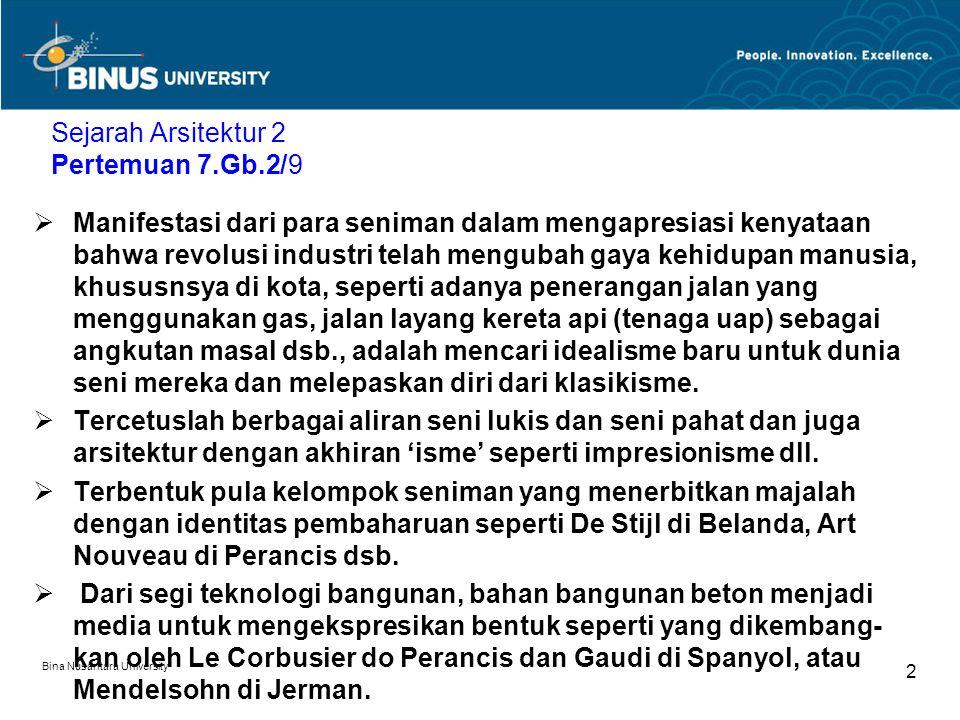 Sejarah Arsitektur 2 Pertemuan 7.Gb.2/9