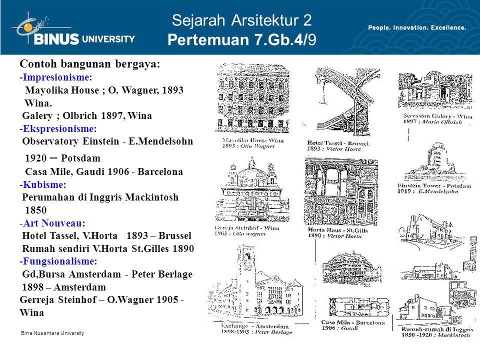 Sejarah Arsitektur 2 Pertemuan 7.Gb.4/9