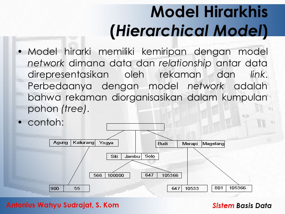 Model Hirarkhis (Hierarchical Model)