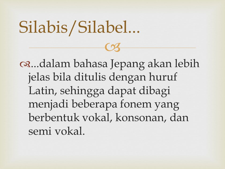 Silabis/Silabel...