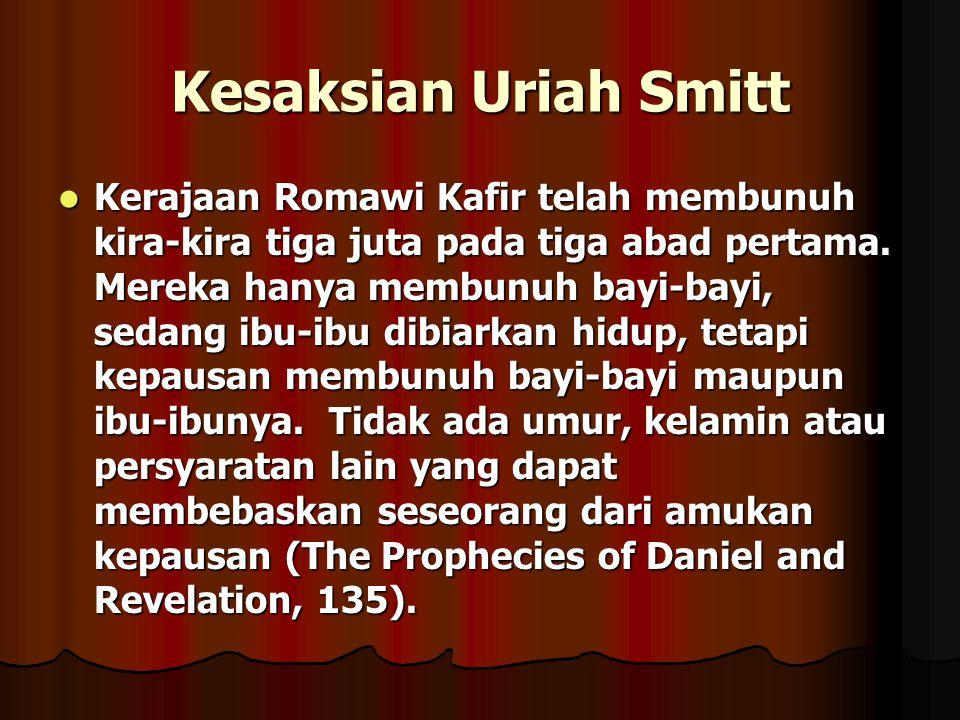 Kesaksian Uriah Smitt