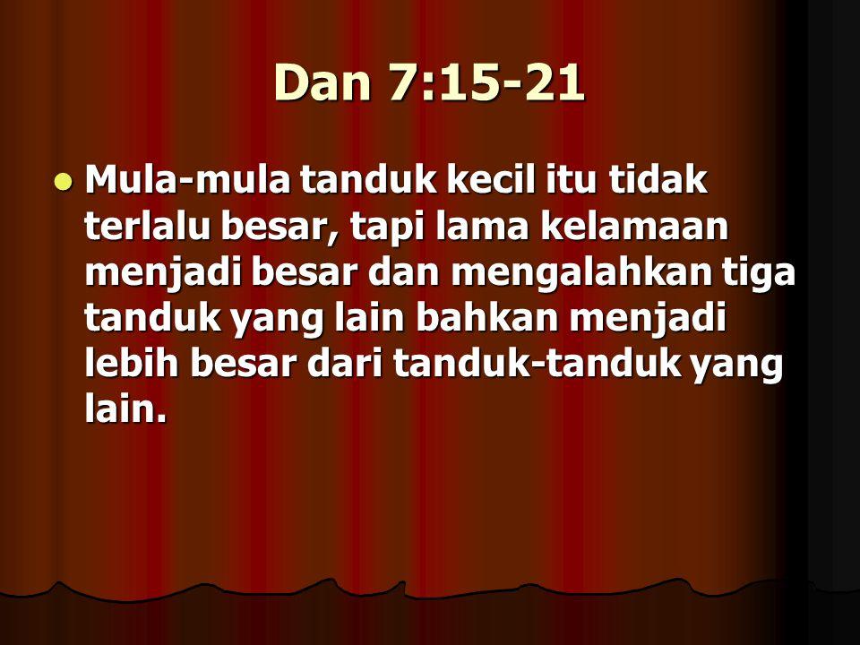 Dan 7:15-21