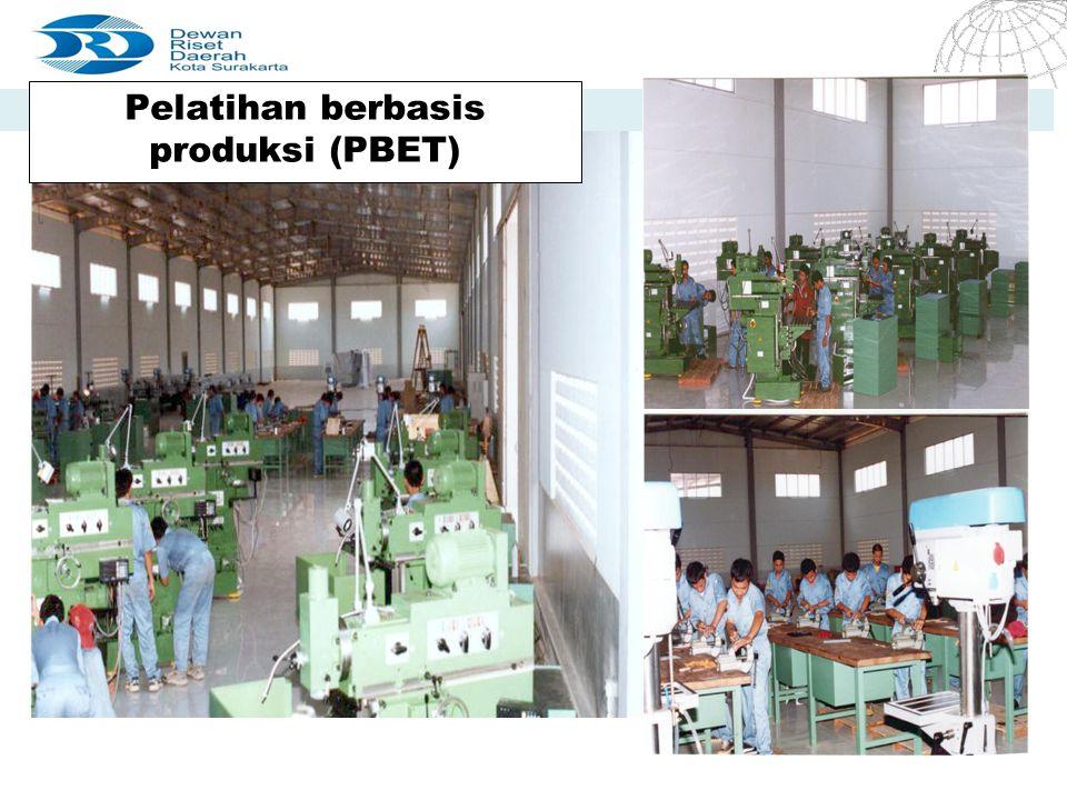 Pelatihan berbasis produksi (PBET)