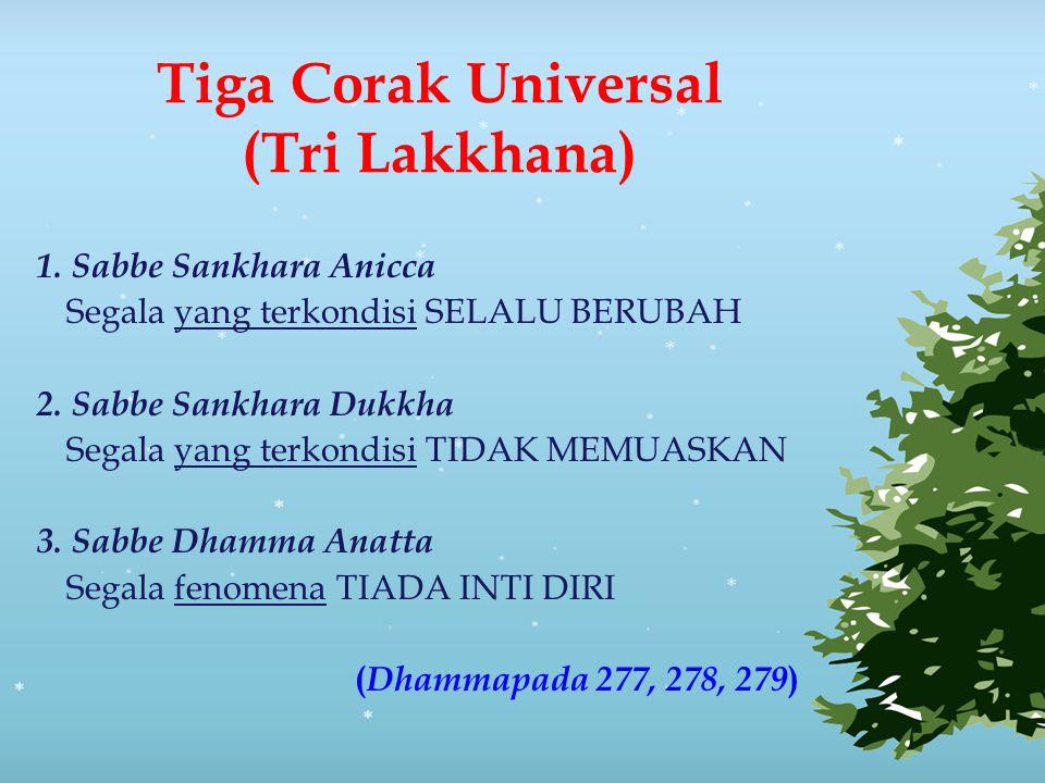 Tiga Corak Universal (Tri Lakkhana)