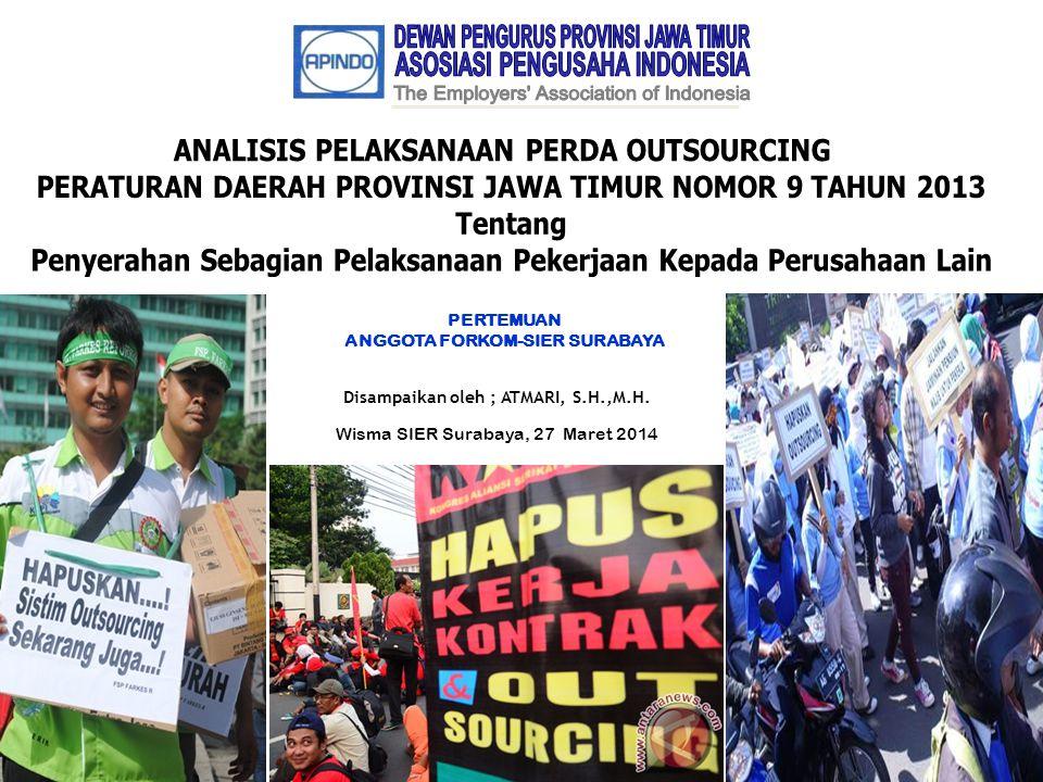 DEWAN PENGURUS PROVINSI JAWA TIMUR ASOSIASI PENGUSAHA INDONESIA
