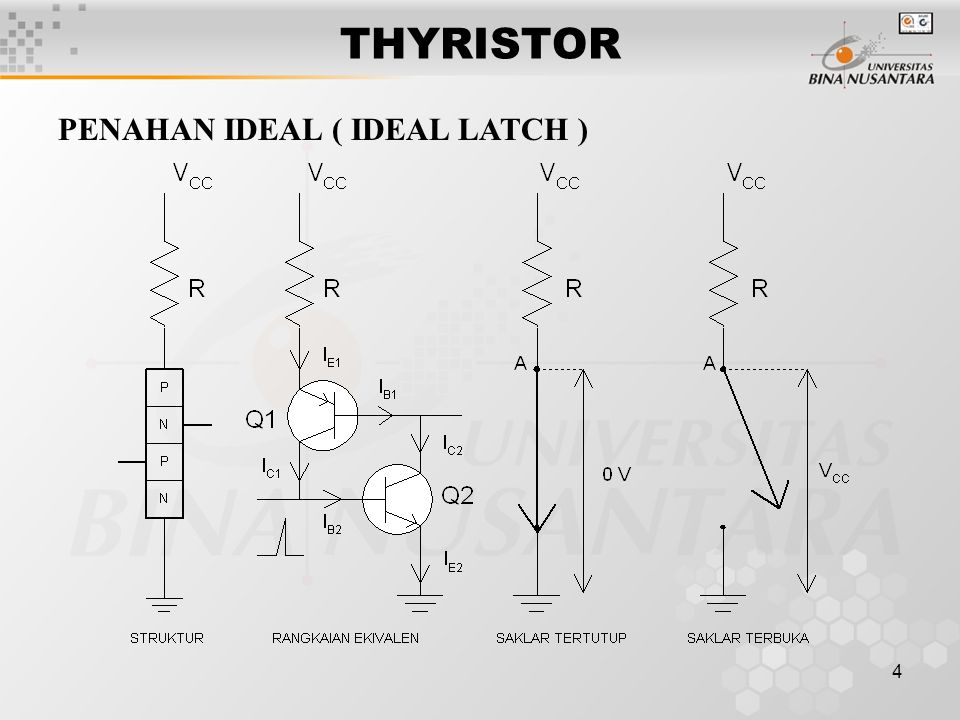 THYRISTOR PENAHAN IDEAL ( IDEAL LATCH )