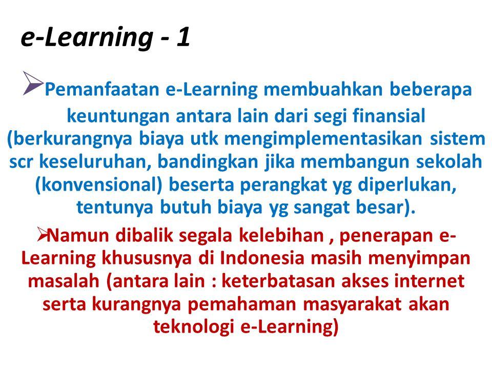 e-Learning - 1