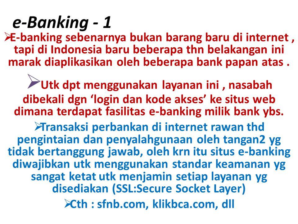 Cth : sfnb.com, klikbca.com, dll