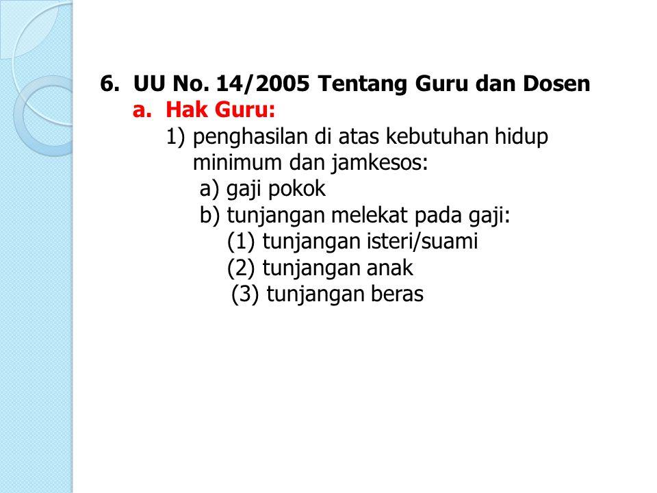 UU No. 14/2005 Tentang Guru dan Dosen