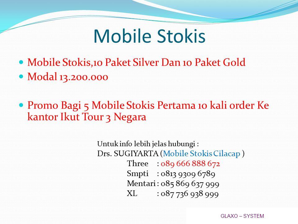 Mobile Stokis Mobile Stokis,10 Paket Silver Dan 10 Paket Gold