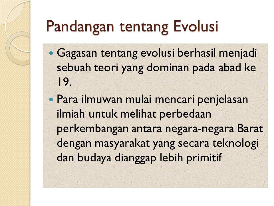 Pandangan tentang Evolusi