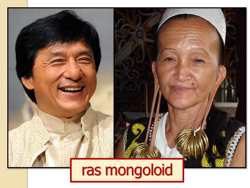 ras mongoloid